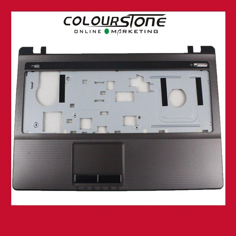 Prix pour Marque Nouveau Repose-poignets Majuscules Lunette Top Case touchpad couverture pour Asus K53 K53T K53U X53U X53B K53B A53U X53Z C Couverture AP0K3000200