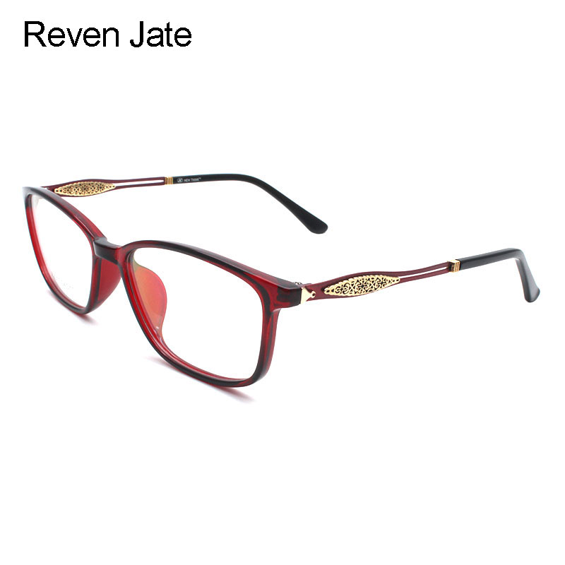 Reven Jate X2001 Optical Plastic Eyeglasses Frame for Men and Women Glasses Prescription Spectacles Full Rim Frame Glasses