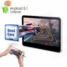 """XTRONS Monitores Android 5.1 Quad Core 10.1 """"Digital HD 1080 P de Vídeo Encosto De Cabeça DVD Player Com Porta HDMI & Função de Espelhamento De Tela"""