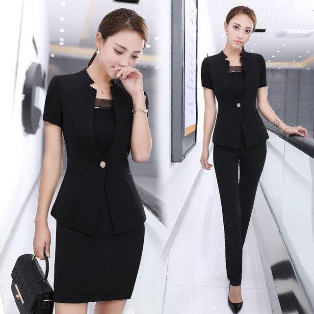 Aliexpress Com Buy Summer Occupation Suit Dress Twinset Self