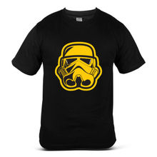 6270-BK Star Wars Storm Troopers 4 Black Mens T-Shirt Free shipping  Harajuku Tops Fashion Classic
