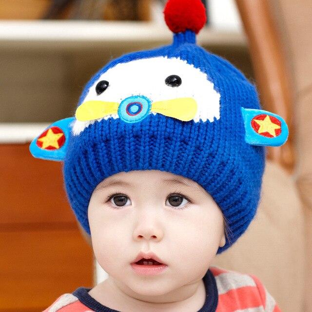 2077f4024286 Baby Beanie Winter Hat Crochet Winter Caps For Baby Boys Girl Lovely ...