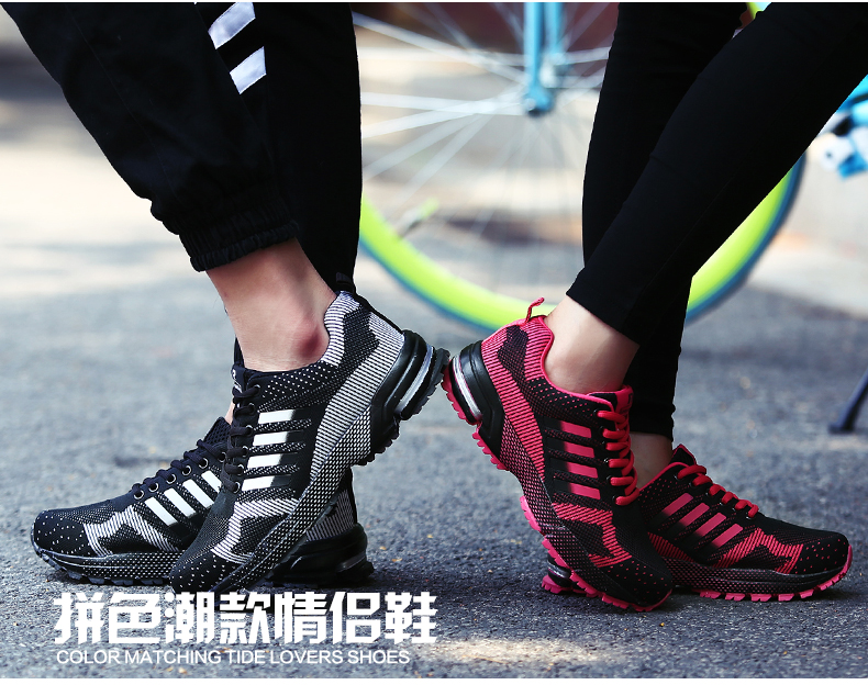 Brand sneakers 17 new summer cheap mens running shoes Men and Women's Breathable shoe max Outdoor Sports Shoes Plus size 45 46 3
