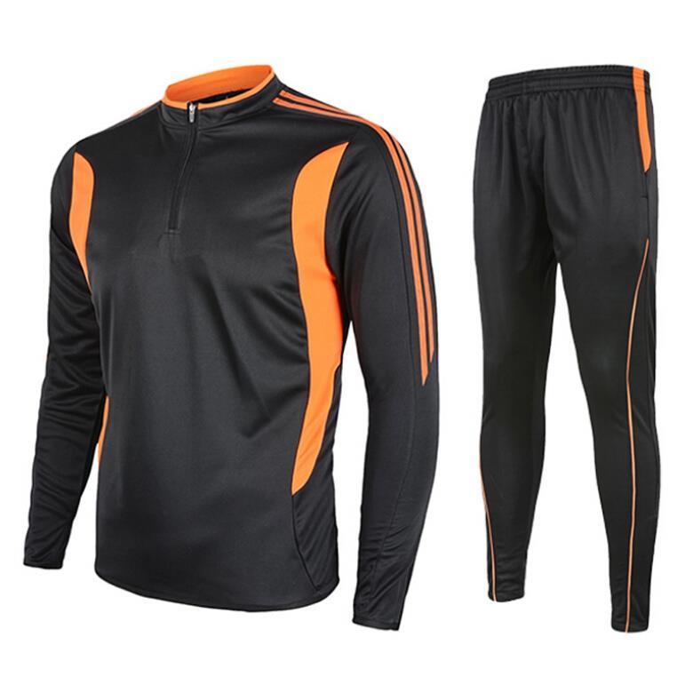 Hot Training Suit font b Jerseys b font Thai Olympique Top Survetement Football Training Jogging font