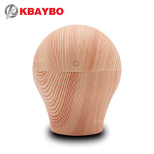 KBAYBO 250ml USB Essential Oil Diffuser Electric Aroma Wood Lamp Air Humidifier Aromatherapy Mist Maker for Home