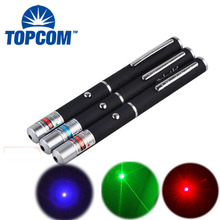 TopCom 532nm 405nm 650nm Фиолетовый/Красный/Зеленый Луч лазерная указка свет профессиональный Cat поймать игрушку Алюминий сплав лазерная ручка