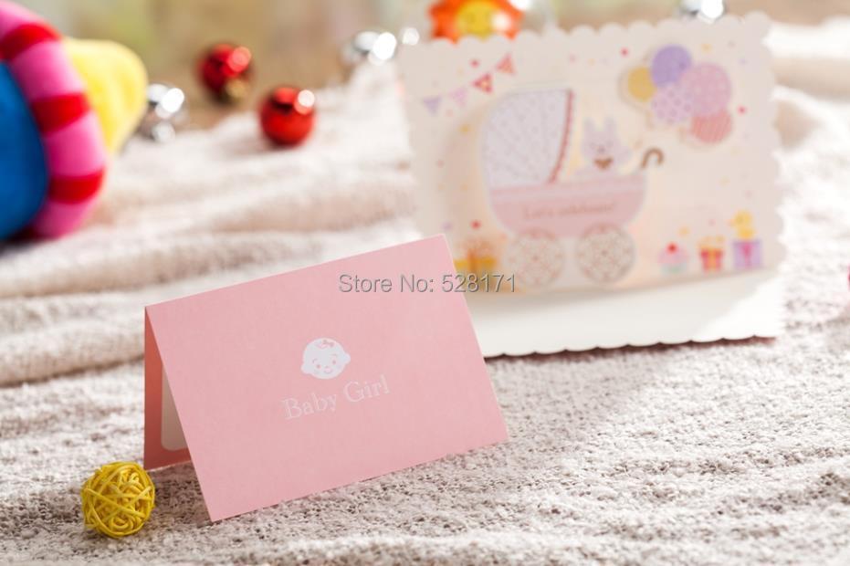 baby invitation cards