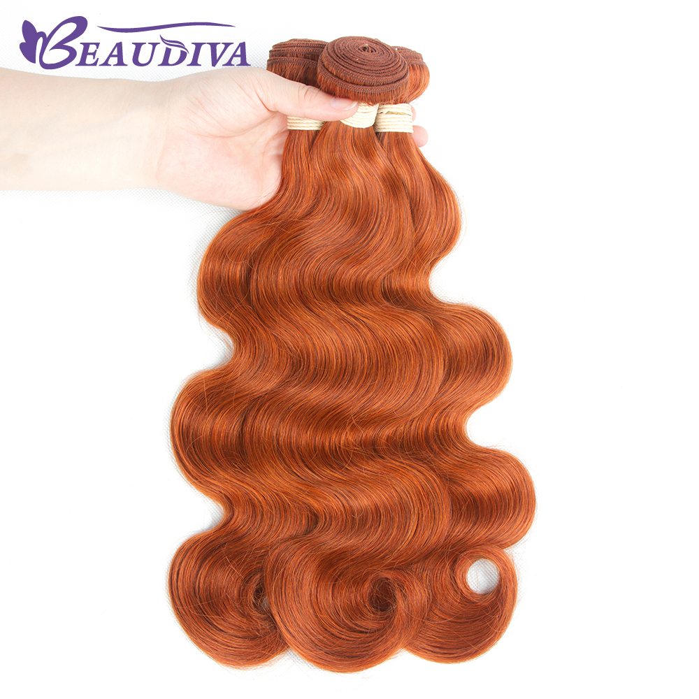 Beaudiva Hair Body-Wave Wavy Pre-Colored Weave Mongolian 1piece -350 Remy