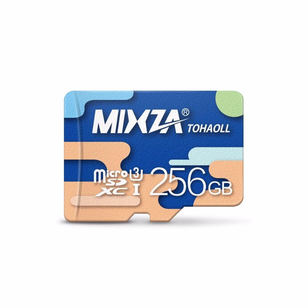 MIXZA Memory Card 256GB U3 128GB  64GB  micro sd card Class10 UHS-1 flash card Memory Microsd for Smartphone/Tablet micro sd card 8gb 16gb 32gb 64gb 128gb class 10 uhs 1 4gb class 6 memory card flash memory microsd for smartphone