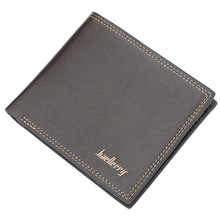 цена на high quality PU Leather Men Wallets Coin Pocket Zipper Real Men's Leather Wallet with Coin High Quality Male Purse