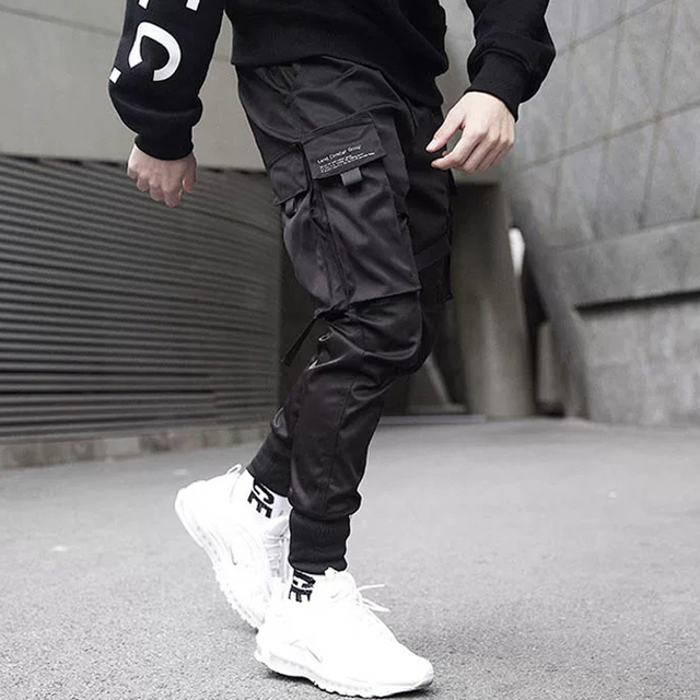 Pants Trousers Streetwear Sweatpants Hombre Male Casual Fashion Cargo Pants Men Overalls New