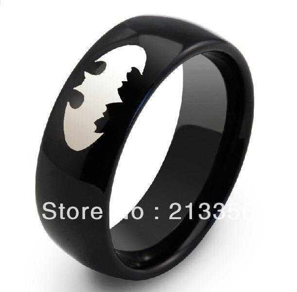 Popular Batman Wedding Ring MensBuy Cheap Batman Wedding Ring