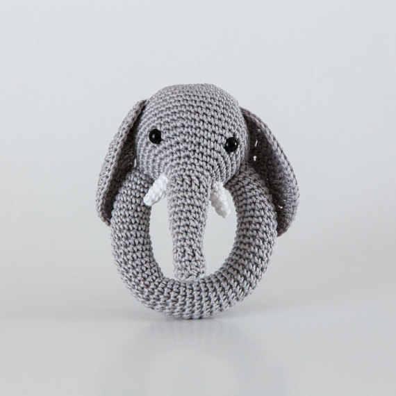 Amigurumi Elephant - FREE Crochet Pattern / Tutorial | Crochet ... | 570x570