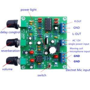 Image 1 - ETK3699 dijital karaoke Surround yankı gecikme mikrofon amplifikatör Preamp kurulu