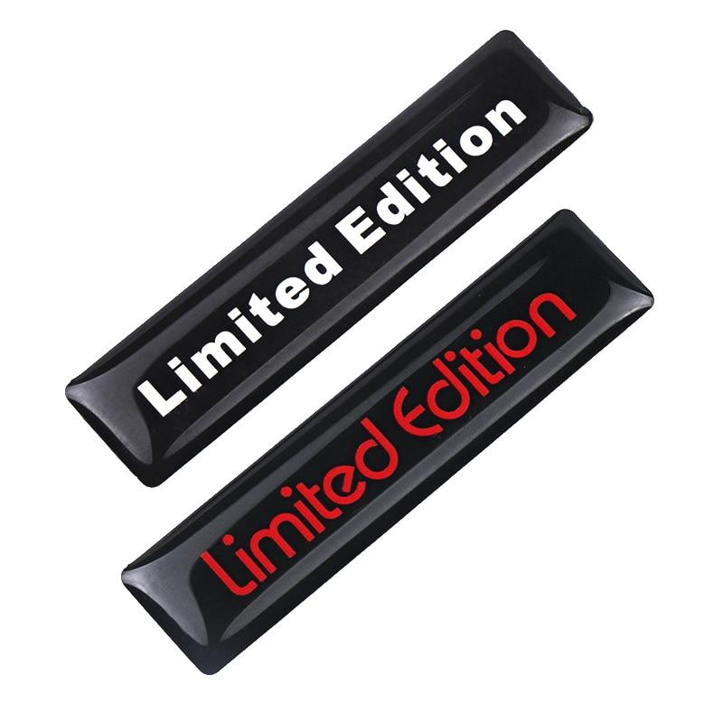 2018 NEW 2PCS 3D Limited Edition Auto Car Sticker Badge Decal Motorcycle Stickers Emblem For Suzuki Honda Kawasaki HARLEY