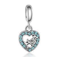 I Love Mom Kralen voor Sieraden Maken Cubic Zirkoon Sieraden Accessoires Handgemaakte 20 STKS Groothandel