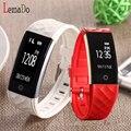 Lemado S2 Bluetooth heart rate banda Inteligente de carga por PC USB pedômetro IOS de Apoio 7.0 telefones Android 4.3 e acima
