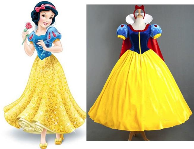 Custom Made Women Adult Snow Queen Costume Adult Snow ...  Original Snow White Costume