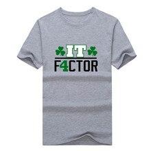 "2017 Fashion Isaiah Thomas ""The IT Factor"" T-shirt Tee 100% Cotton T shirt 1119-6"