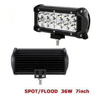 1Pcs 6 5Inches Car Dome Light Driving Light 36W 6000K 3000LM LED Lamp Off Road Car