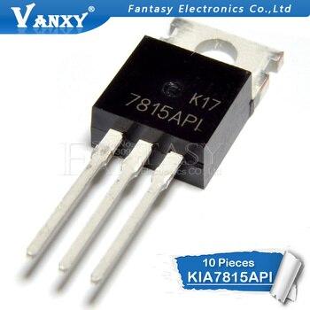 10 قطعة KIA7815API TO-220F KIA7815A TO220F 7815A إلى 220 KIA7815API-U/P KIA7815 جديد الأصلي