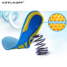KOTLIKOFF Gel Pad Silicone insoles pads sole gel pad men insole women insole child insole shoes accessories inserts