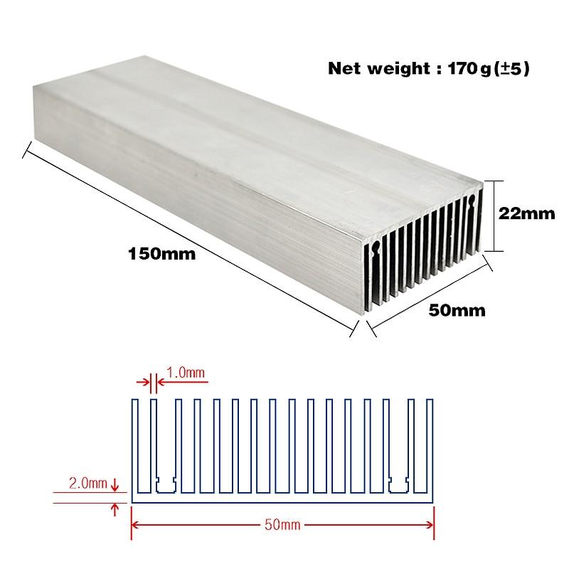 150x50 радиатор қыздырғыш алюминийден - Жарықтандыру керек-жарақтары - фото 2