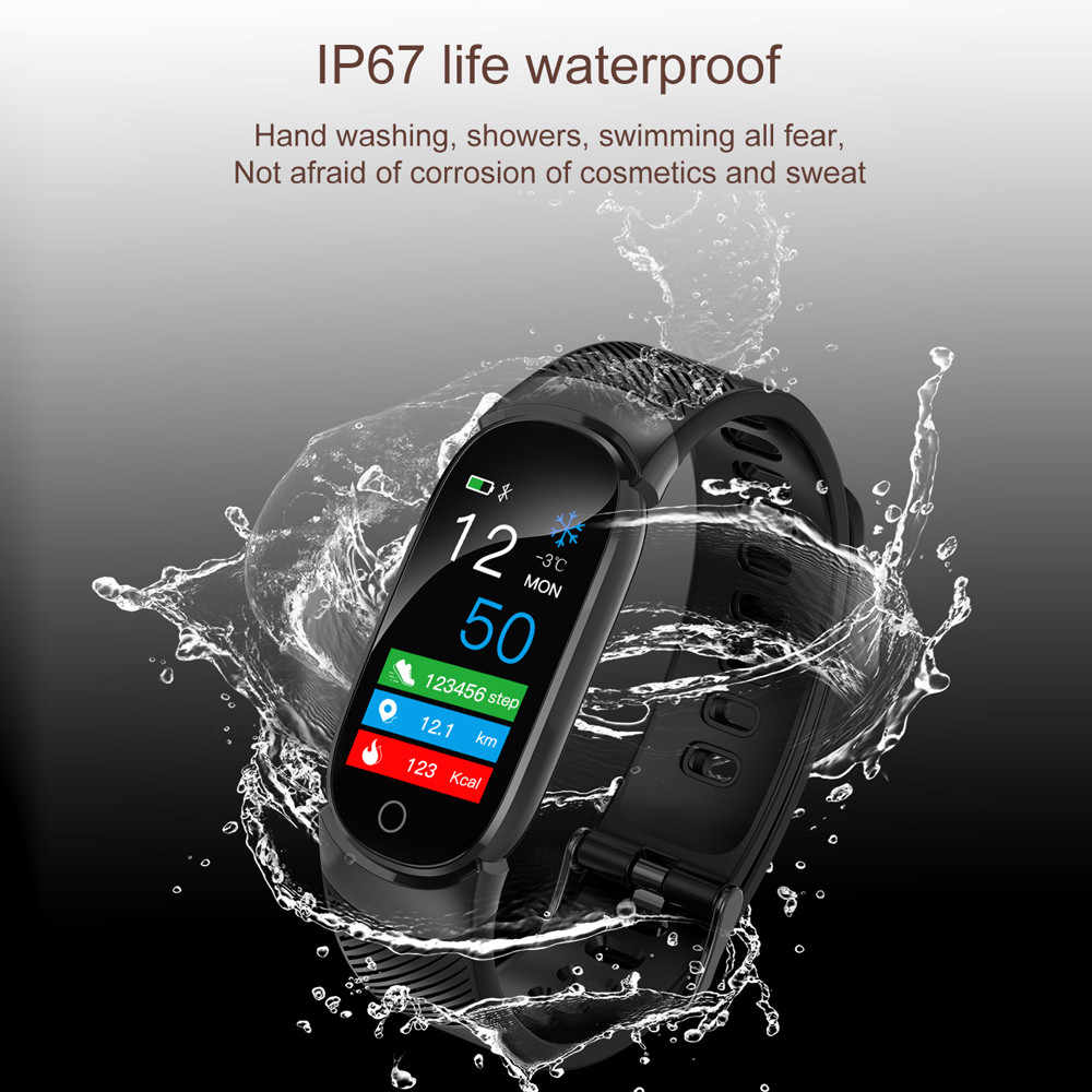 2019 most popular women man Smart Watch Sports Fitness Activity Heart Rate Tracker Blood Pressure Watch for various smartphones