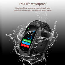2019 most popular women man Smart Watch Sports Fitness Activity Heart Rate Tracker Blood Pressure Watch for various smartphones(China)