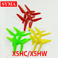 4pcs SYMA update Triangular propeller blade Spare parts For X5HC X5HW Quadcopter RC Helicopter Parts Free shipping
