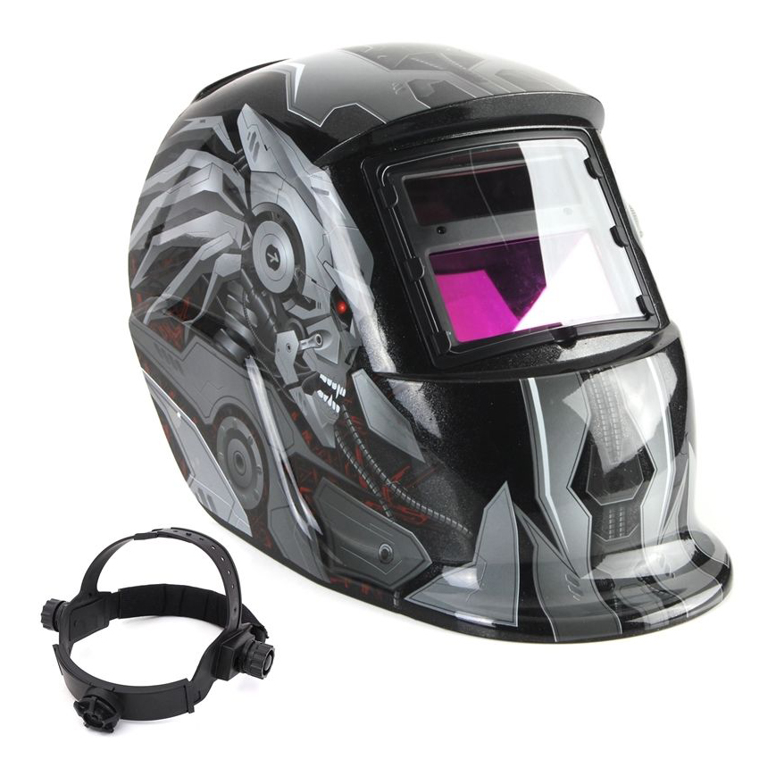 Solar Auto Darkening Welding Helmet TIG MIG MAG MMA Weld Welder Lens Grinding Mask/Electric welding mask/welder cap white purple yellow light led flashlight stainless steel torch 18650 rechargeable uv torch olight jade identification