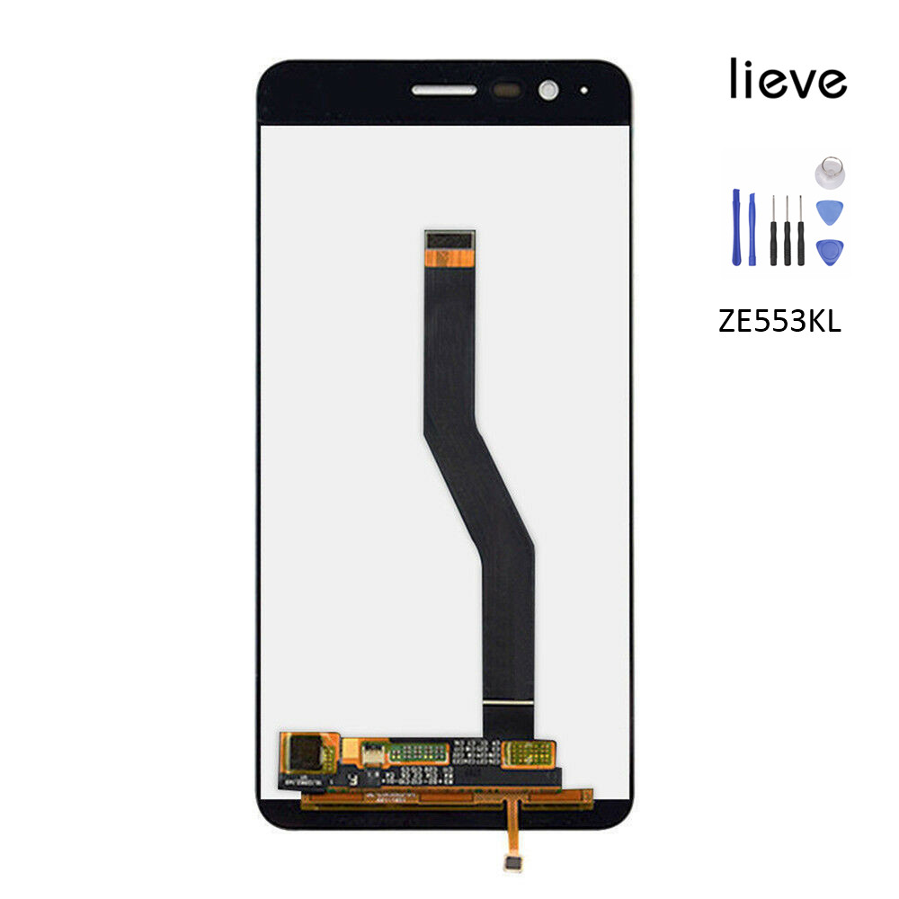 LCD Touch Screen Digitizer Assembly For 5.5 Asus ZenFone 3 Zoom ZE553KL Replacement 100% TestedLCD Touch Screen Digitizer Assembly For 5.5 Asus ZenFone 3 Zoom ZE553KL Replacement 100% Tested