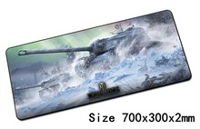 World of tanks padmouse 700x300mm wot pad to mouse notbook computer mousepad Popular gaming mouse pad gamer to laptop mouse mat