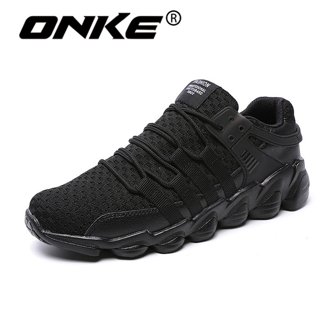 Visualizzza di più. Onke New Style Uomo Sneakers Lace-up Men Running Shoes  Outdoor Cuscino Scarpe Sportive Comode 4d2f45d429a