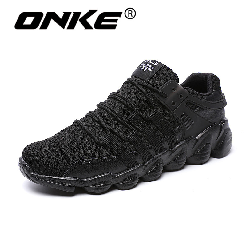 Onke New Style Men Sneakers Lace-up Men Running Shoes Outdoor Cushion Sport Shoes Comfortable Walking Jogging Zapatillas