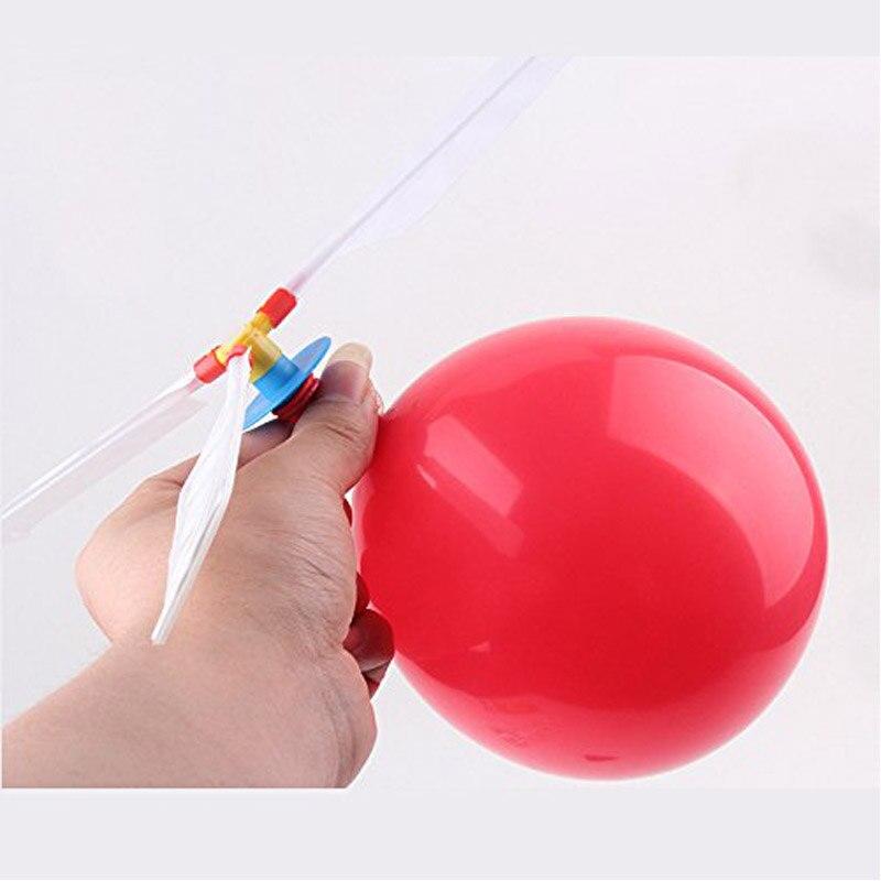MüHsam 5 Teile/satz Baby Ballon Hubschrauber Fliegen Spielzeug Kind Geburtstag Xmas Party Tasche Strumpf Füllstoff Geschenk Strand Fliegen Spielzeug
