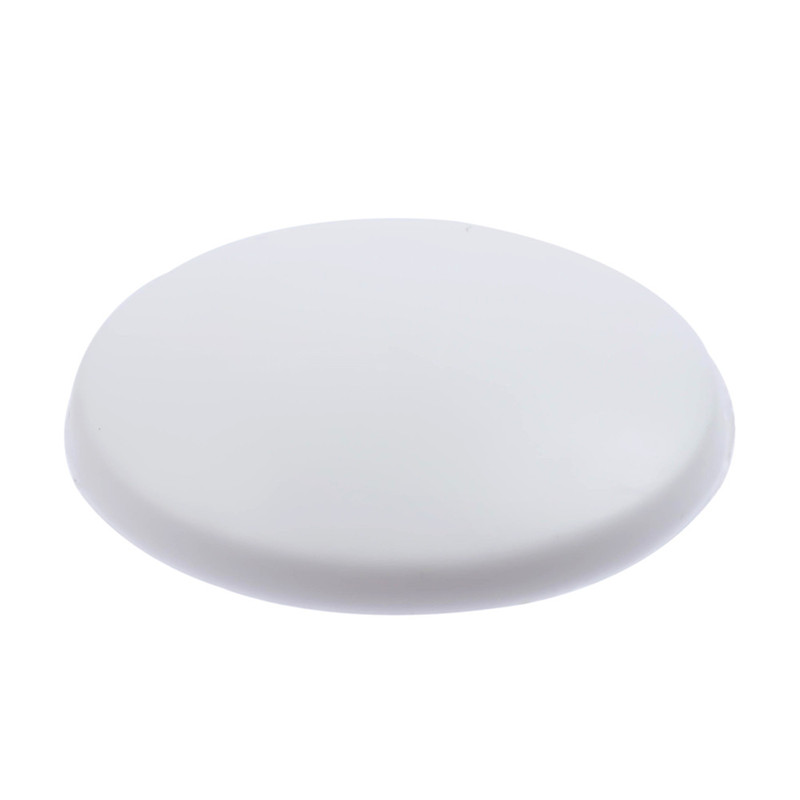 1pc 2pcs 5pcs 10pcs Silicone White Or Brown Round Shape Wall Protectors Door Handle Self Adhesive Bumper Guard Stopper in Door Stops from Home Improvement