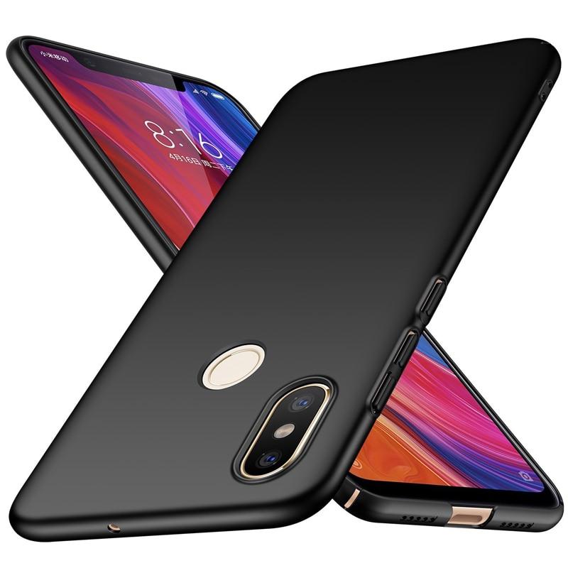 Luxury Hard Matte Case For Xiaomi Redmi S2 5 Plus 4X 4A Note 4 4X 5A 5 Pro Global Version Cover Anti-Scratch Phone Protector