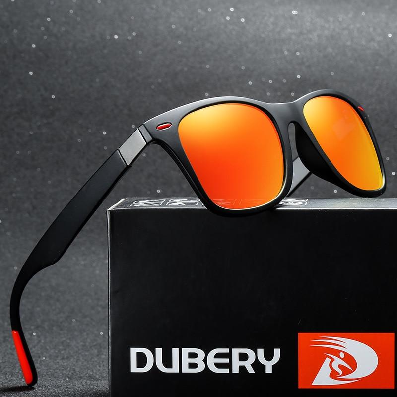 DUBERY Polarized Sunglasses Men Women Outdoor Sun Glasses Luxury Brand Sports Driving Shades Male Goggles UV400 Gafas De Sol