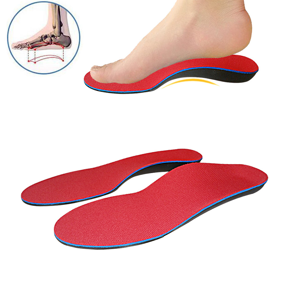 1 Pair Orthotics Insoles Flat Feet Pronation Plantar Fasciitis for Unisex Shoes