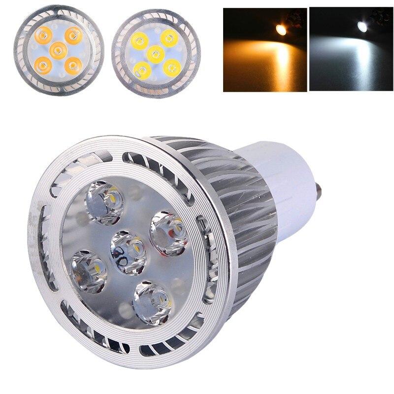 GU10 5W AC 85-265V LED Spot Light Bulb Warm White / Cold White 3030 SMD LED Spotlight Bulb Lamp for Home Decoration Lighting msled l04 g4 4w 130lm 6500k 5 smd 3030 led white light spot beam bulb ac dc 12v