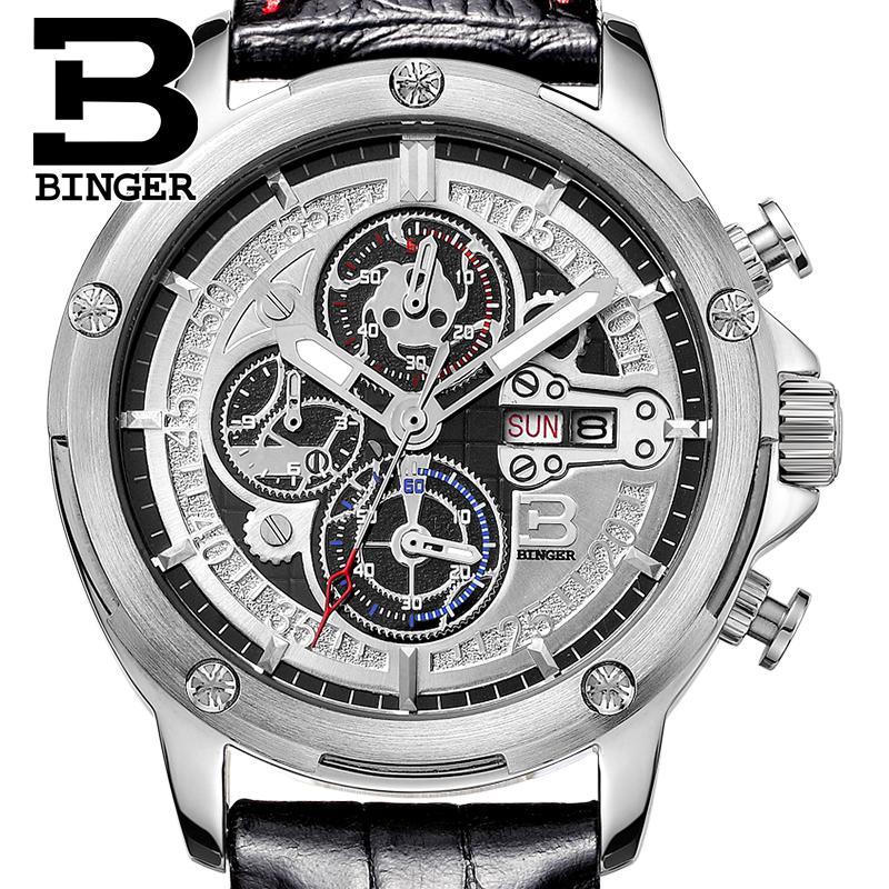brand B6009-3 Chronograph BINGER