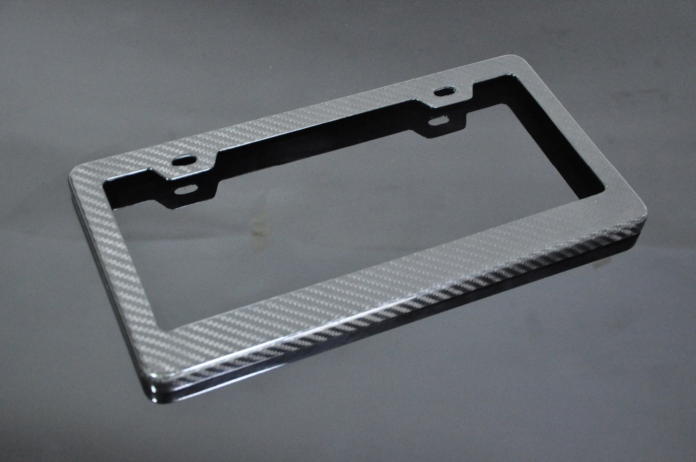 aliexpresscom buy universal carbon fiber license plate frame registration plate holderusa from reliable frame registration suppliers on byc
