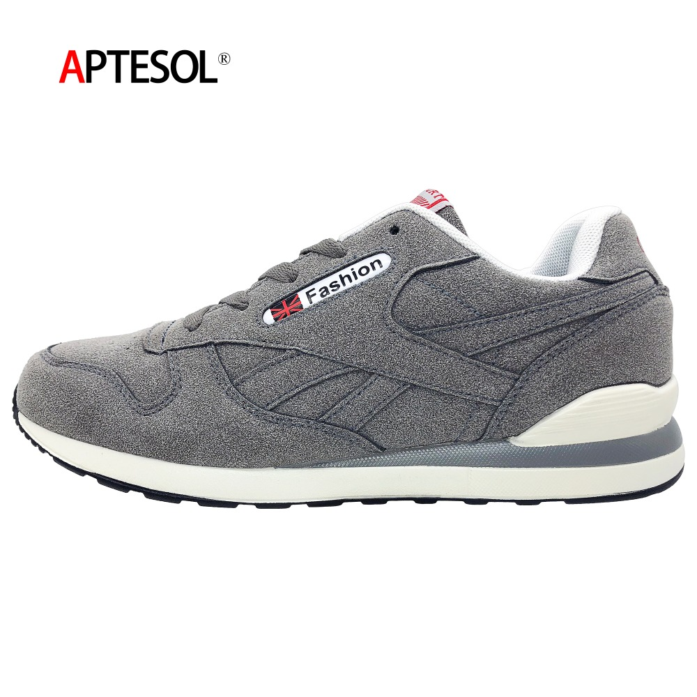 APTESOL Breathable Light Womens Sneakers High Quality Cow Suede Running Shoes for Felame Outdoor Sport Shoe Non slip TPU Outsole|sneakers brand|brand running shoesrunning brand shoes - AliExpress