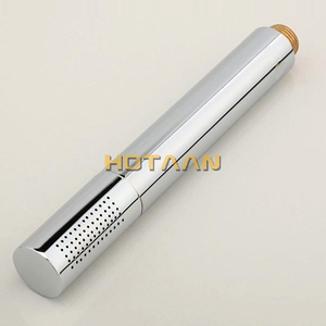 Image 2 - Hot selling free shipping !! hand shower set solid brass hand shower +1.5M stainless steel shower hose +holder shower accessory