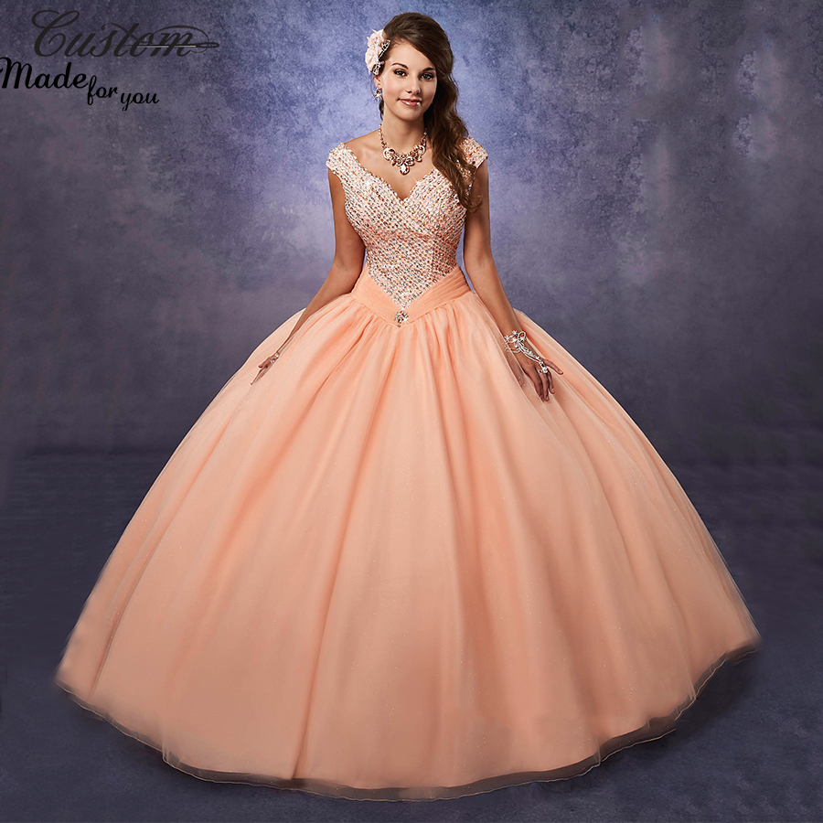 Quince Dama Dresses in Peach