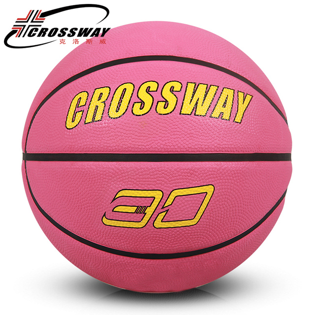 5f595918f7b CROSSWAY size6 girls rubber basketball ball Indoor Outdoor gym match  training Ballon Basketball Training Equipment elastic 552