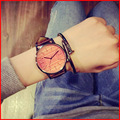Ulzzang Модный Бренд Quart Смотреть Женщин Наручные Часы Дамы Наручные часы Женский Часы Кварцевые часы Relogio Feminino Montre Femme