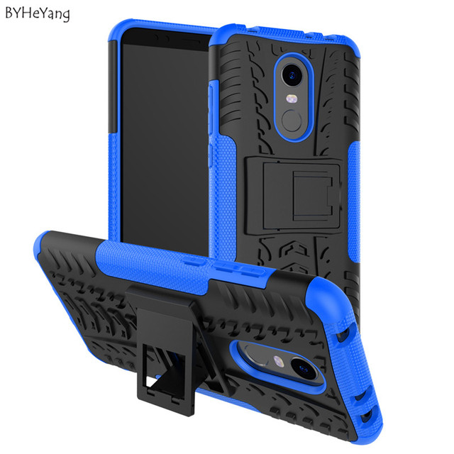 """BYHeYang For Xiaomi Redmi 5 Plus Case Armor PC + TPU Back Cover Heavy Duty Protection Shockproof for Xiaomi Redmi5 plus 5.99"""""""