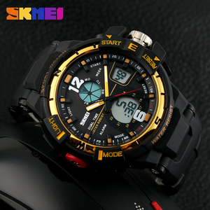 Image 4 - 2019 SKMEI G Style Fashion zegarek cyfrowy męskie zegarki sportowe zegarek wojskowy armii Erkek Saat odporny na wstrząsy zegar kwarcowy zegarek